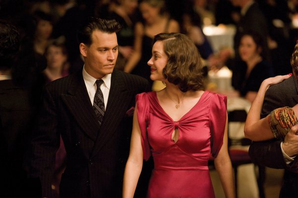 Dillinger與女友Billie