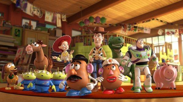 Woody與同伴們在托兒所