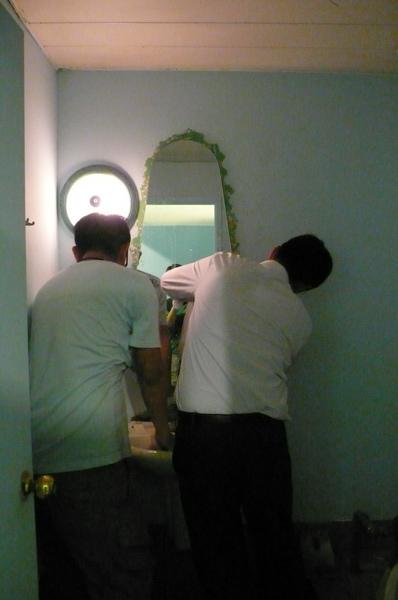 又另一好友幫忙整理廁所佈置