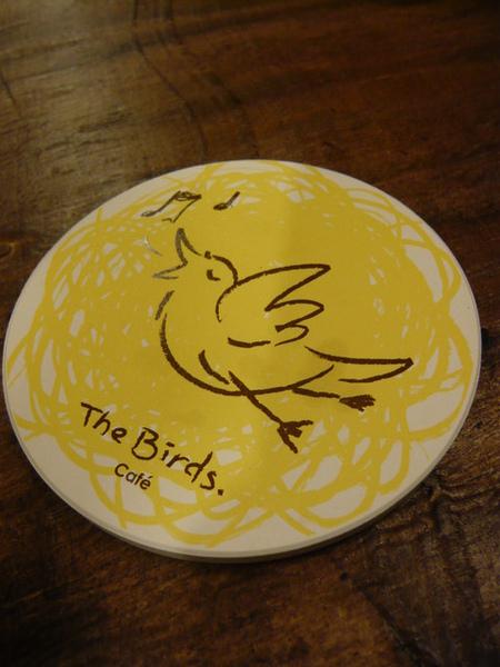 喝了鳥咖啡會讓你飛上青天的鳥杯墊