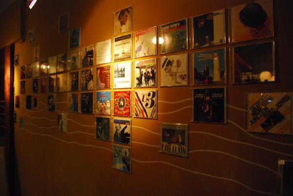 Jazz CD牆