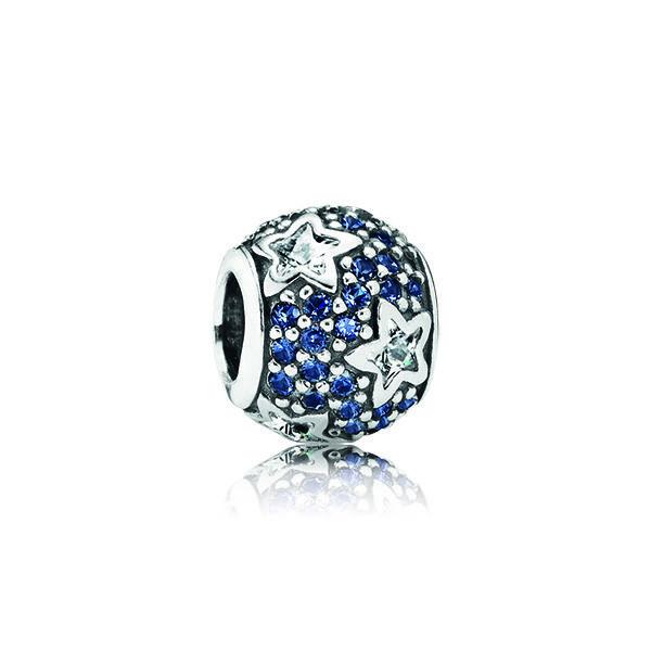 純銀星相藍水晶串飾 NT$2,820.jpg