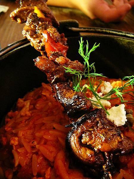 希臘左巴_肉串麵飯