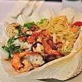 papamio_炭烤海鮮沙拉1
