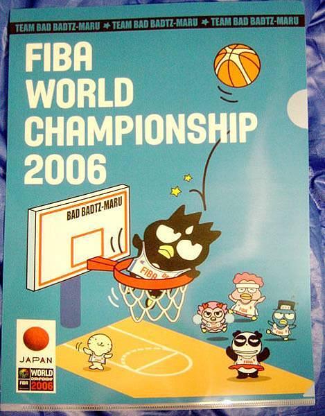 酷企鵝代言FIBA新產品-文件夾