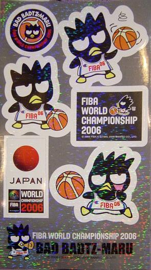 酷企鵝代言FIBA新產品-雷射貼紙