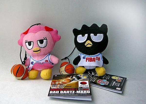 FIBA小玩偶