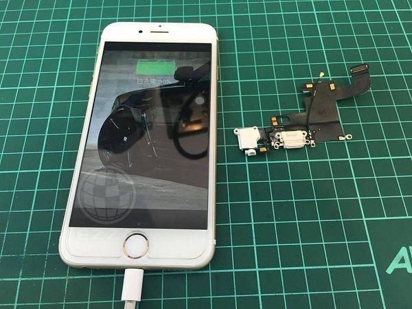 iphone6突然間就無法充電
