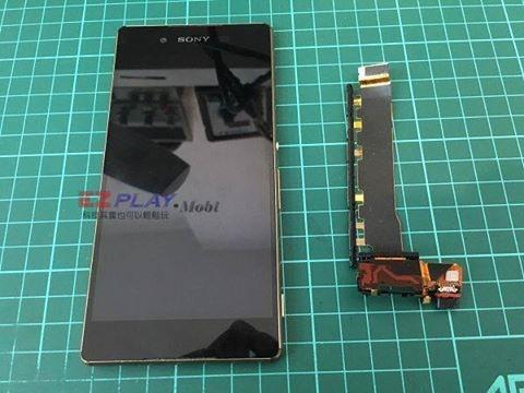 Sony Z3+側按鍵故障