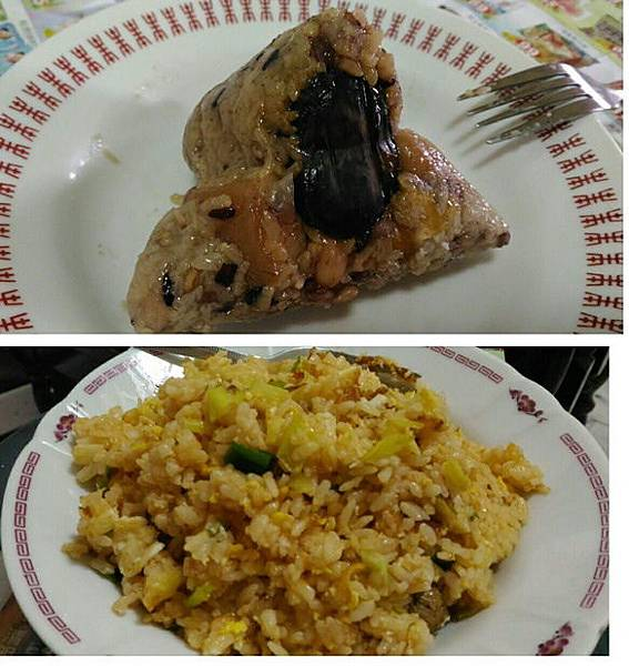 媽媽包的肉粽 JJ蛋炒飯香.jpg
