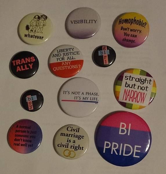 LGT和雙性戀胸章