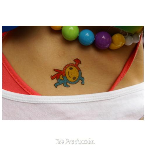 刺青貼紙-雙箭頭寶寶