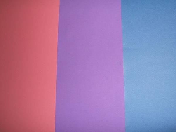 雙性戀三色旗(粉+藍=流動的紫)