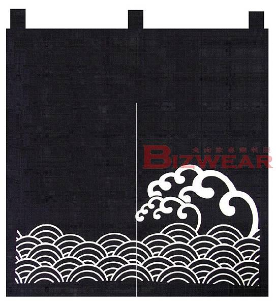 2片 寬90高110 日式海浪
