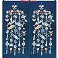2片 寬96高110 鯉魚旗掛串