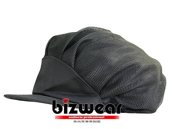 黑色全網帽