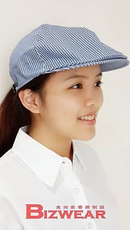 條紋貝殼帽2