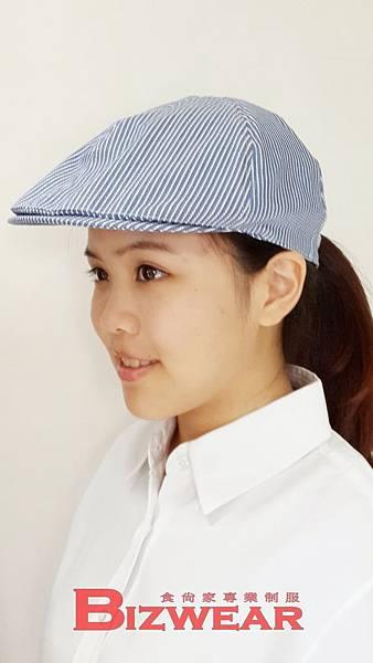 條紋貝殼帽3