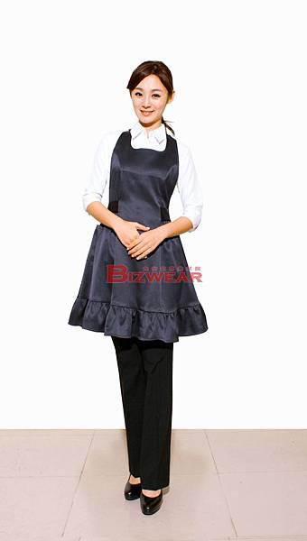 緞面荷葉裙擺洋裝圍裙.jpg