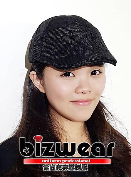 黑色透氣報僮帽.jpg