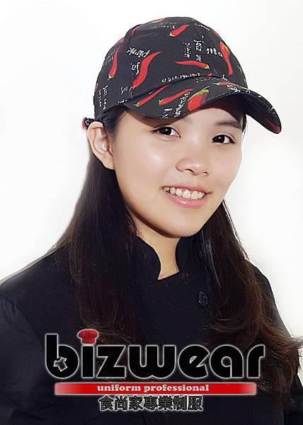 紅辣椒印花棒球帽 (2)
