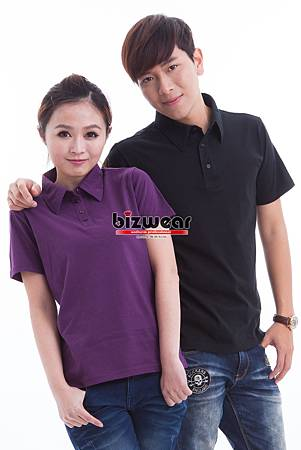 精梳水洗純棉polo衫-黑和紫.jpg