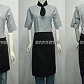 加寬半身圍裙L