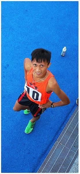 【人物專訪】-『台灣馬拉松的黑色閃電─蔣介文』