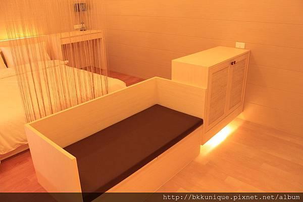 2張單人床房