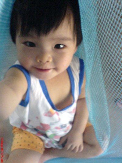 回来度假的小鑫鑫。