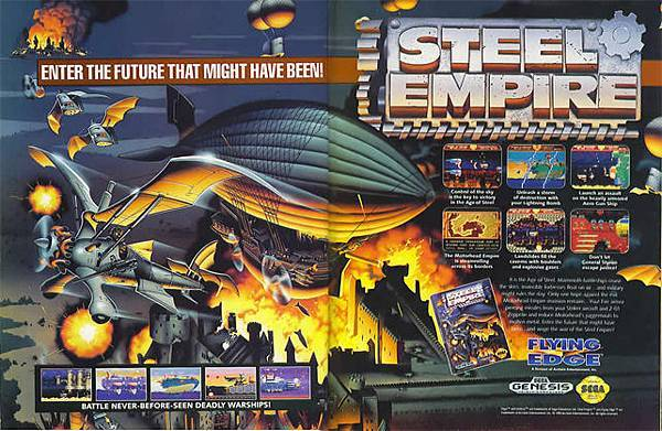 steel empire廣告