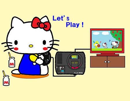 Kitty玩MD