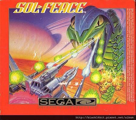 Sol-Feace Sega CD cover