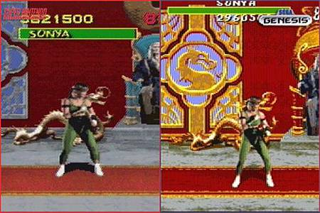 Mortal Kombat SNES VS GENESIS 1