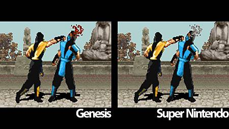 Mortal Kombat SNES VS GENESIS 2