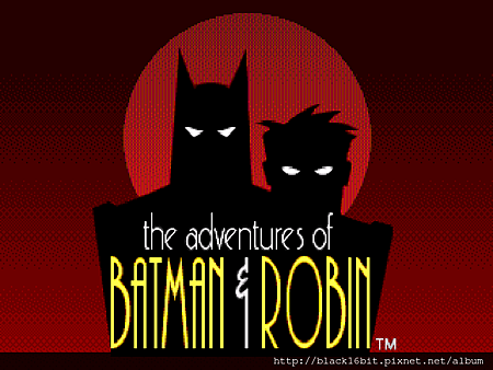 蝙蝠俠和羅賓的冒險The adventures of Batman & Robin000