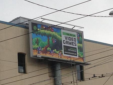 The Art of Video Games  billboards
