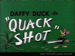 Quack Shot 1954