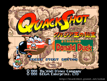 唐老鴨 Quack Shot Starring Donald Duck 002