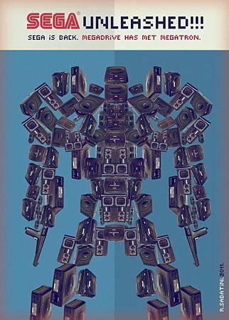 Megatron(From蟻速畫行httpfelixip.blogspot.tw)