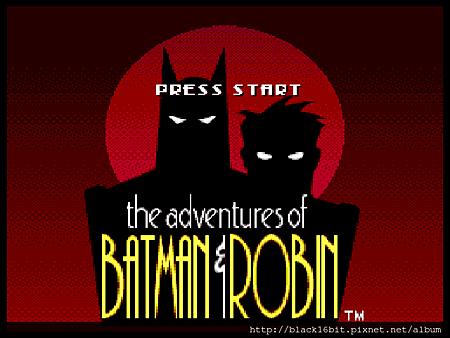 (MCD)蝙蝠俠和羅賓的冒險000