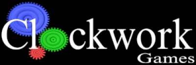 Clockworks Games Logo from 1993 to 1997.