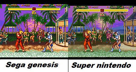 Snes_vs_Sega___ssf_2___by_Elias1986