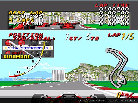 Super Monaco Grand Prix 超級摩納哥賽車 007
