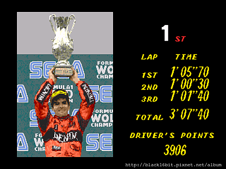 Super Monaco Grand Prix 超級摩納哥賽車 037