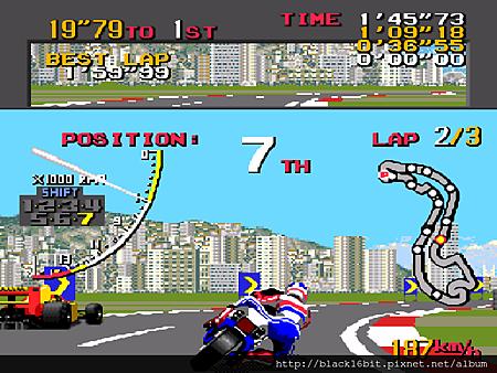 Ayrton Senna's Super Monaco GP II 超級摩納哥賽車2 084