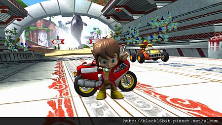 Alex Kidd in Sonic & SEGA All-Stars Racing 02.png
