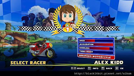 Alex Kidd in Sonic & SEGA All-Stars Racing 01.png