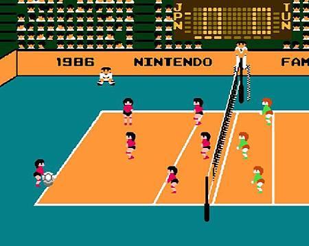 1986任天堂排球