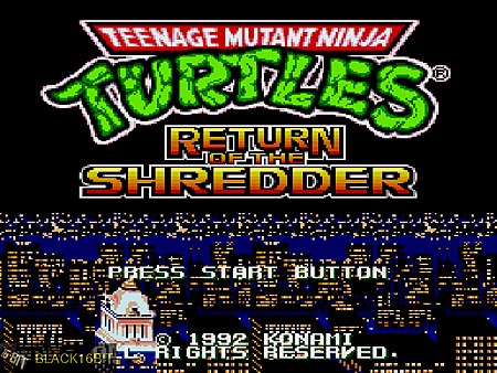忍者龜 TMNT - Return of the Shredder 001